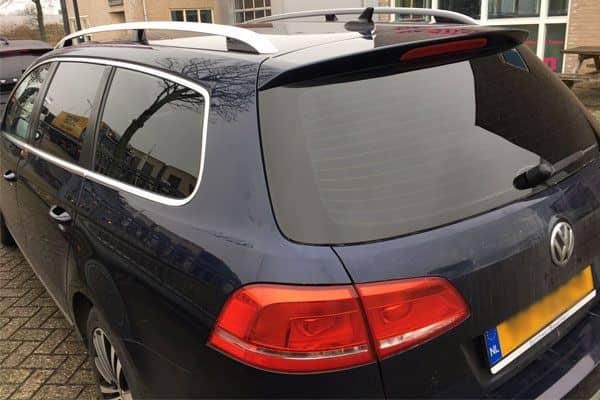 Zonwerende glasfolie op auto's