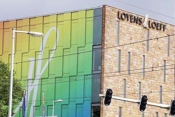 Creatieve branding folie voor ramen