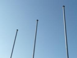 Vlaggenmasten voor bedrukte vlaggen